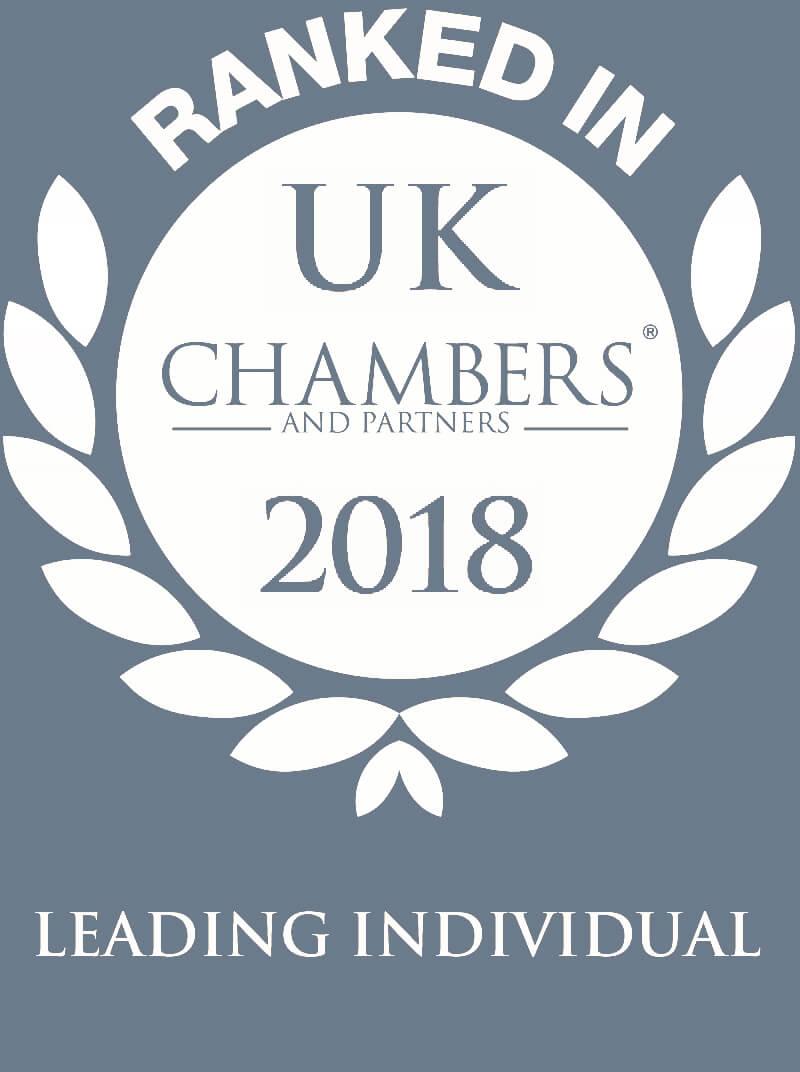 Chambers UK 2018: Leading Individual