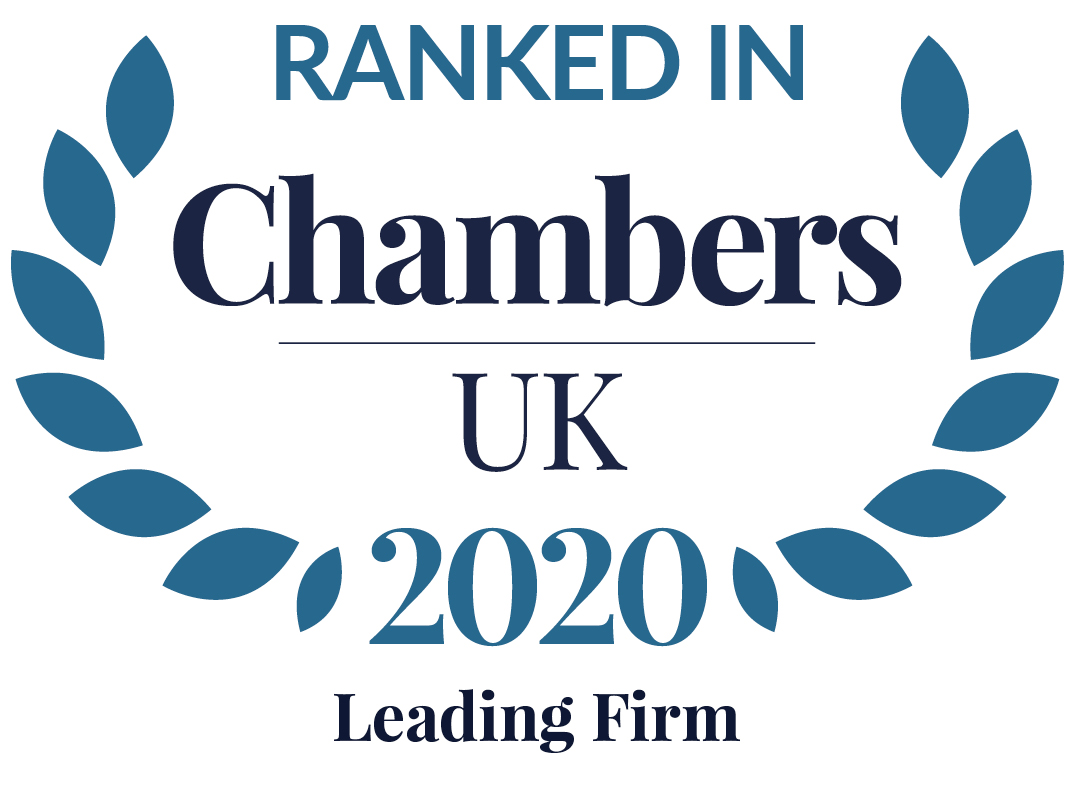 Chambers UK 2020: Leading Firm