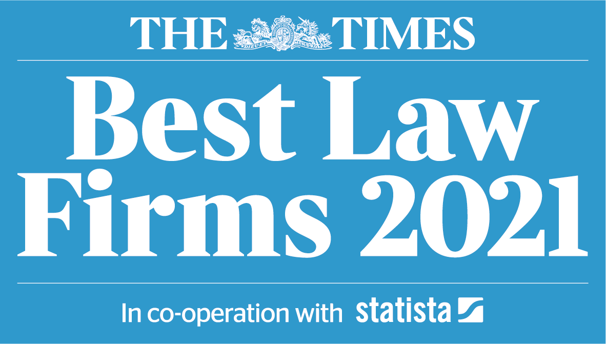 Times 2021 Best Law Firms